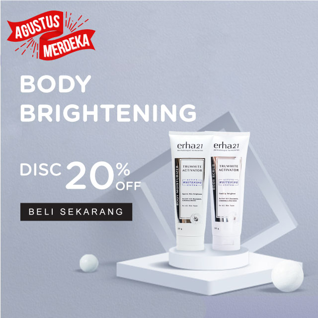 Truwhite Activator Body Series  Erha Online Official Ecomerce Store