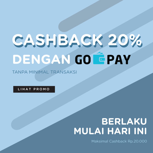 Promo CashBack GO-PAY | Erha Online Official Ecommerce Store