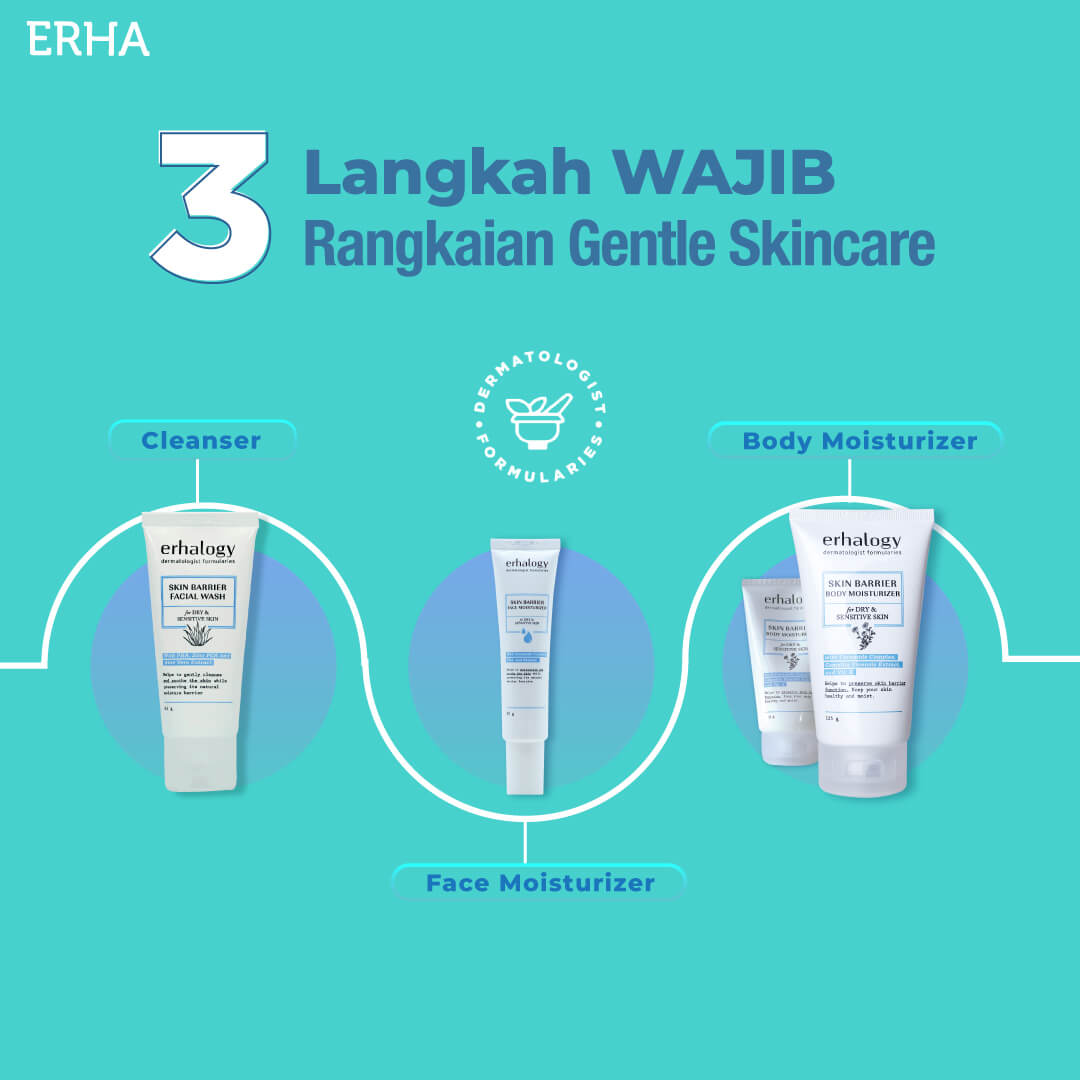 skin barrier facial wash