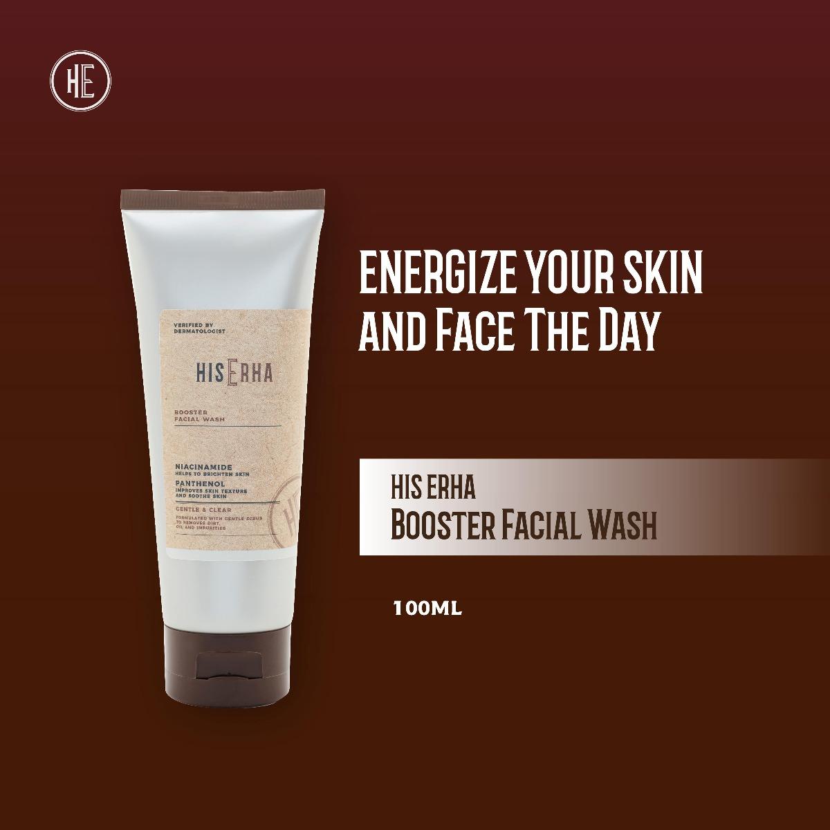 HIS ERHA Booster Facial Wash