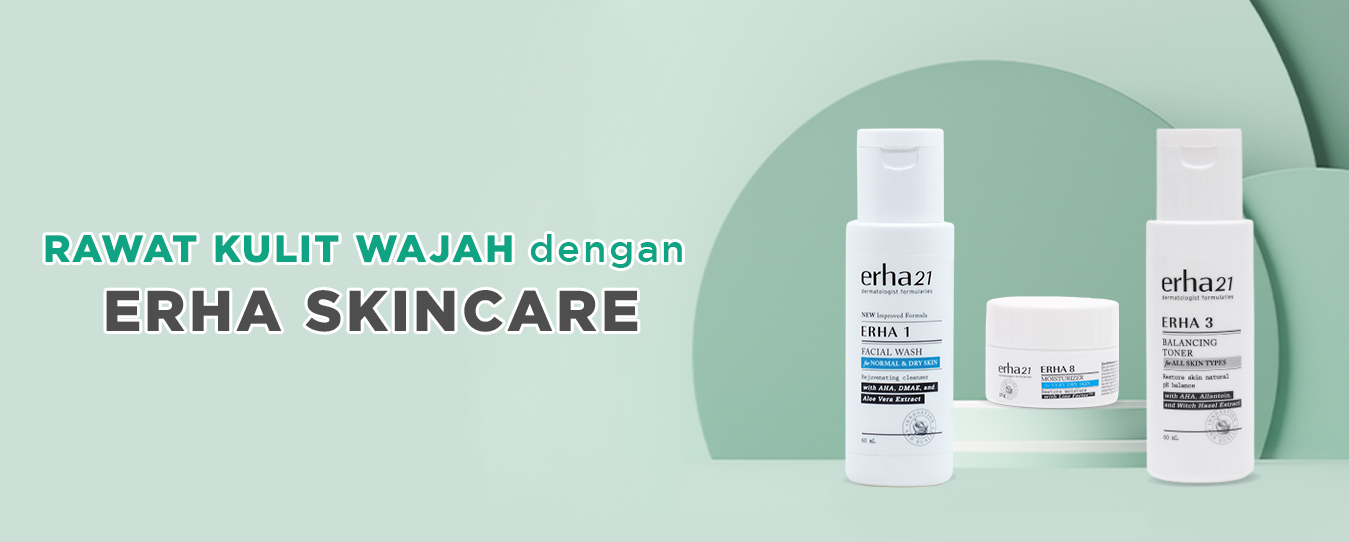 daily skin care from erha